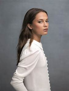 ALICIA VIKANDER on the Set of a Photoshoot, July 2016 ...