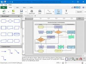 Clickchart Is A Free Diagram  U0026 Flowchart Software For