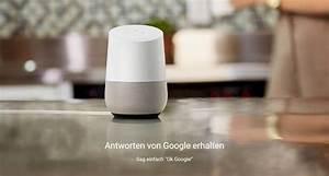 Google Home In Deutschland : smarter lautsprecher google home ist ab heute in ~ Lizthompson.info Haus und Dekorationen