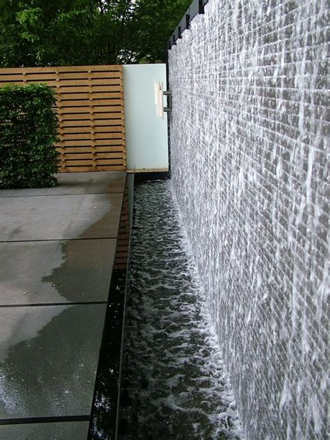 water feature for wall 38 amazing outdoor water walls for your backyard digsdigs