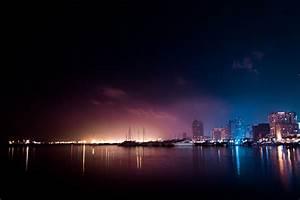 Free stock photo of city, dark, lights