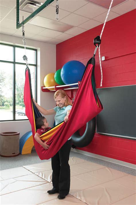 acrobat swing hammock  play therapy  calming