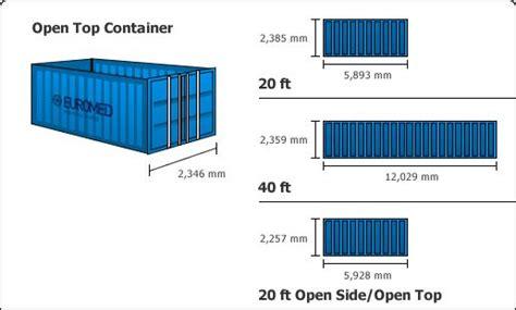 dimension interieur conteneur 40 les 25 meilleures id 233 es de la cat 233 gorie dimensions des conteneurs de 20 pieds sur
