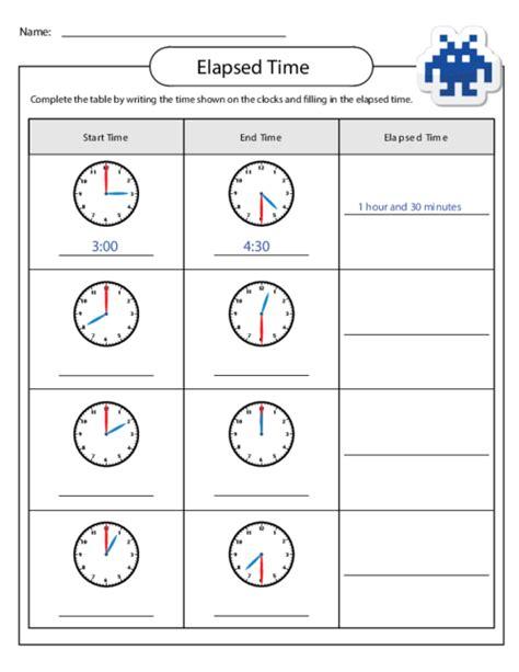 time worksheets 187 grade 5 elapsed time worksheets
