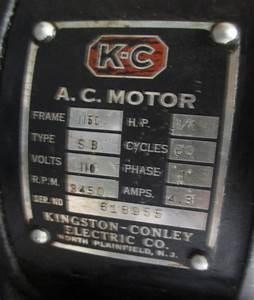 Kingston Conley Motor Wiring Diagram
