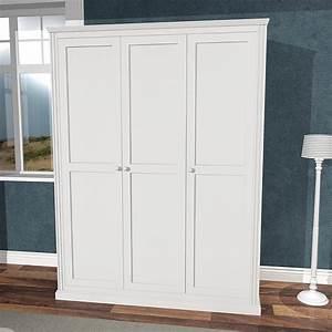 Kleiderschrank 3 Türig Weiß : kinderzimmer kleiderschrank roomstar 3 t rig weiss 150cm breite dannenfelser ~ Indierocktalk.com Haus und Dekorationen