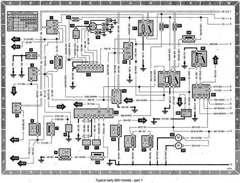 Saab 9 5 Acc Wiring Diagram by Index Of Saab Saab 900 Wiring Diagram Early Models