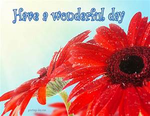 Have a Wonderful Day - Free Quotes, Images, Animated GIFs.