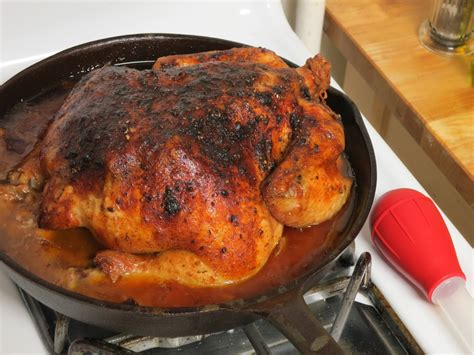 chicken cast iron skillet roasting a chicken in a cast iron skillet cuts recipes for every day