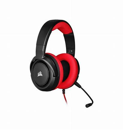 Corsair Hs35 Stereo Auriculares Rojo