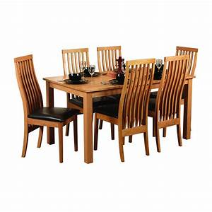 Oak Dining Room Table 6 Chairs And Chairs Osrs