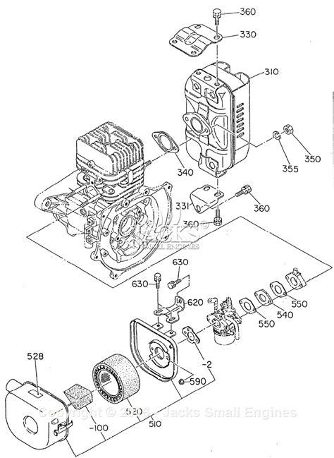 Robin Subaru Mikasa Parts Diagram For Intake Exhaust