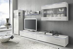 Ikea Wohnwand Wei Hochglanz