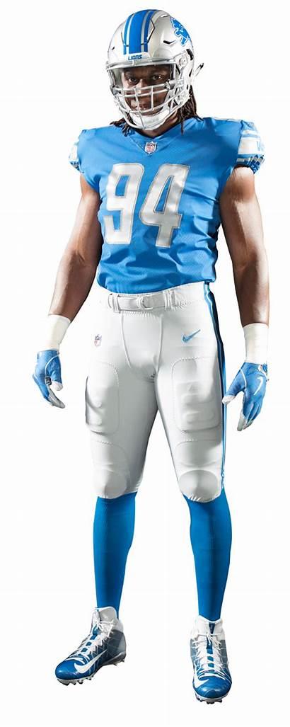 Lions Detroit Uniforms Jersey Uniform Grey Pants