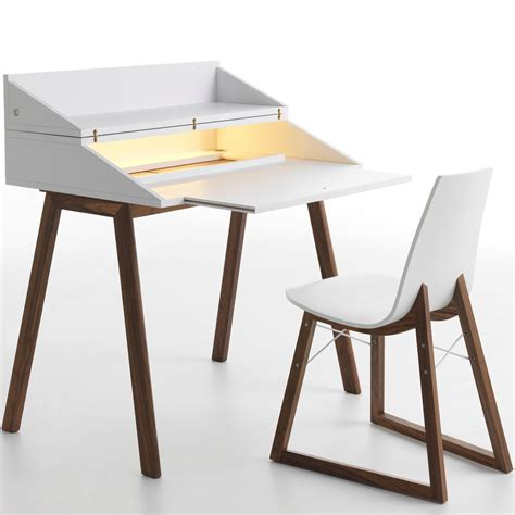 bureau led horm bureau writing desk with led light panik design