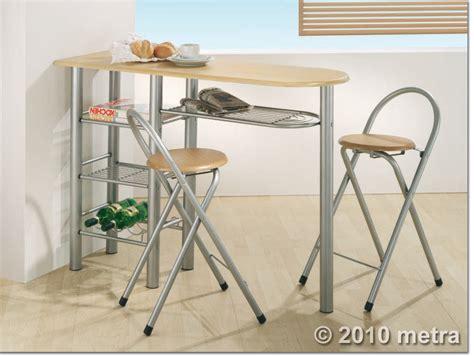 Kuchentisch Mit Stuhlen k 252 chenbar mit 2 st 252 hlen k 252 chentisch bistro tisch holz ebay