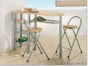 Küchentisch Mit Stühlen : k chenbar mit 2 st hlen k chentisch bistro tisch holz ebay ~ Michelbontemps.com Haus und Dekorationen