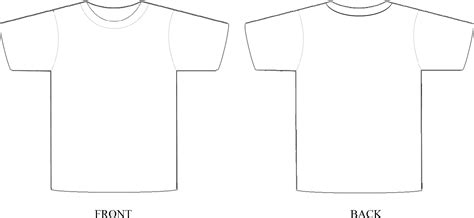 Tshirt Template Png by T Shirt Design Template Photoshop Best Template Idea