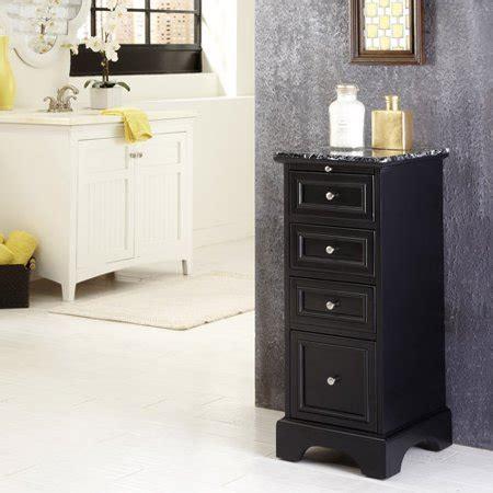 home styles bedford bath cabinet black walmartcom