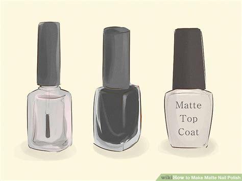 5 Ways To Make Matte Nail Polish