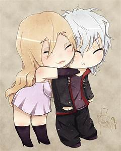 Best Friends Hugging Base Chibi Pictures to Pin on ...