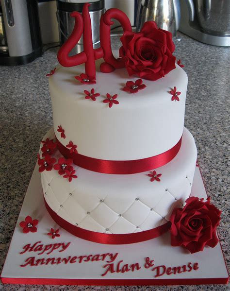 40th wedding anniversary cake decorations 2 best 25 40th anniversary cakes ideas on diy 1118