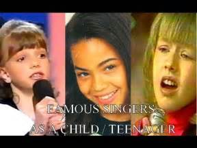 Famous Singers Singing