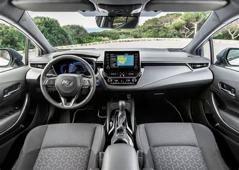 toyota corolla hybrid interior features automotive car news