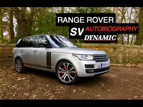 range rover sv autobiography dynamic review