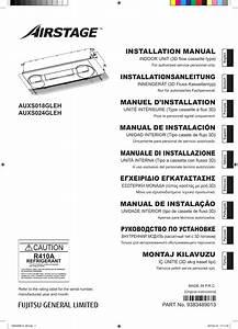 Fujitsu Auxs018gleh Gu U00eda De Instalaci U00f3n