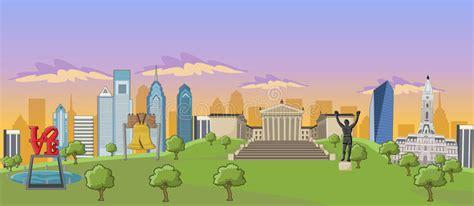 Philadelphia Stock Vector. Illustration Of City, Rocky