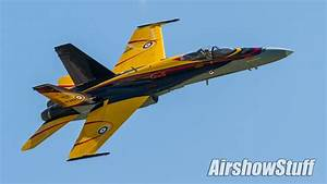 Cf-18 Hornet Aerobatic Demonstration  Saturday