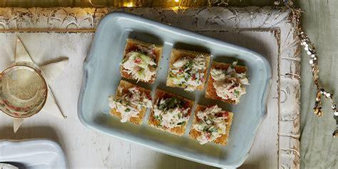 Christmas canapé recipe: Crab brioche bites