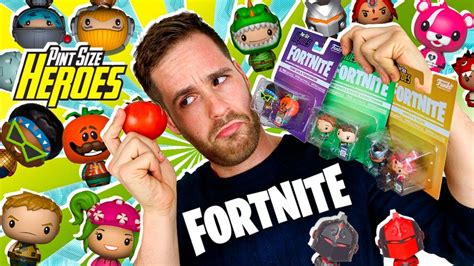 fortnite pint size heroes unboxing  figuras coleccion