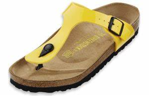 Pick of the Week Birkenstock Lemon Patent Birko Flor