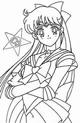 Sailor Moon Coloring Venus Colorear Anime Manga Colouring Dibujos Printable Drawing Aesthetic Sheets Crystal Caballeros Books Sailormoon Ausmalbilder Joe Pintar sketch template