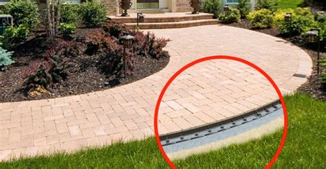 patio paver edging snapedge paving edging barrier eding hardscape