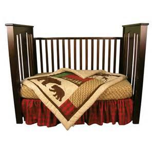 trend lab 110240 northwoods 3 piece crib bedding set atg