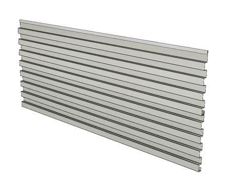 corrugreat corrugated metal panel  wall cladding  rainscreen  fine metal roof tech