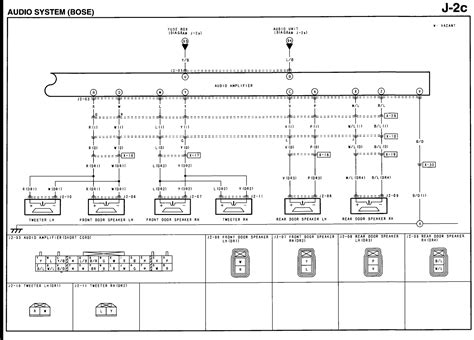 Bose Subwoofer Wiring Diagram by I A 2004 Mazda 6 With The Bose Audio System The