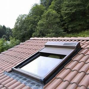 Fenetre De Toit Avec Volet Roulant Integre : fenetre de toit castorama incroyable fenetre de toit fixe ~ Premium-room.com Idées de Décoration