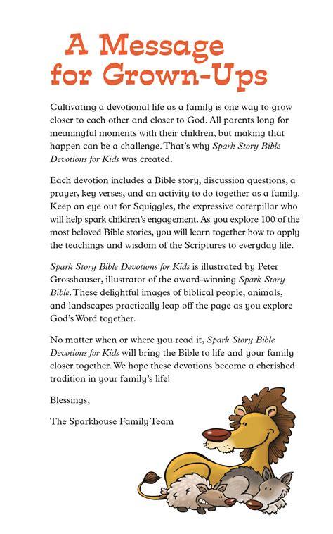 spark story bible devotions for beaming books 948 | 9781506417660 05.jg