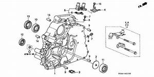 1999 Honda Civic Exhaust System Diagram