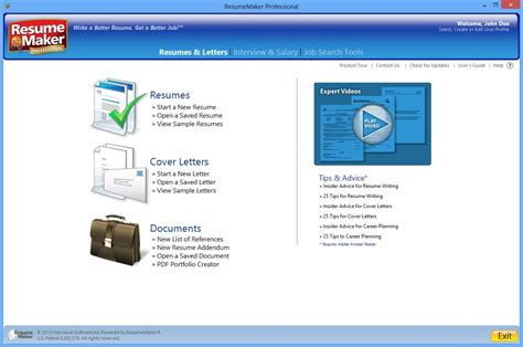 Free Resume Maker And Print by Resume Maker Professional Software Free Resume