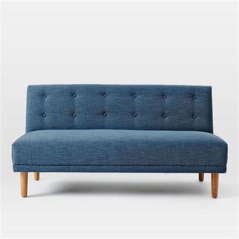 Armless Settee by 20 Best Small Armless Sofa Sofa Ideas