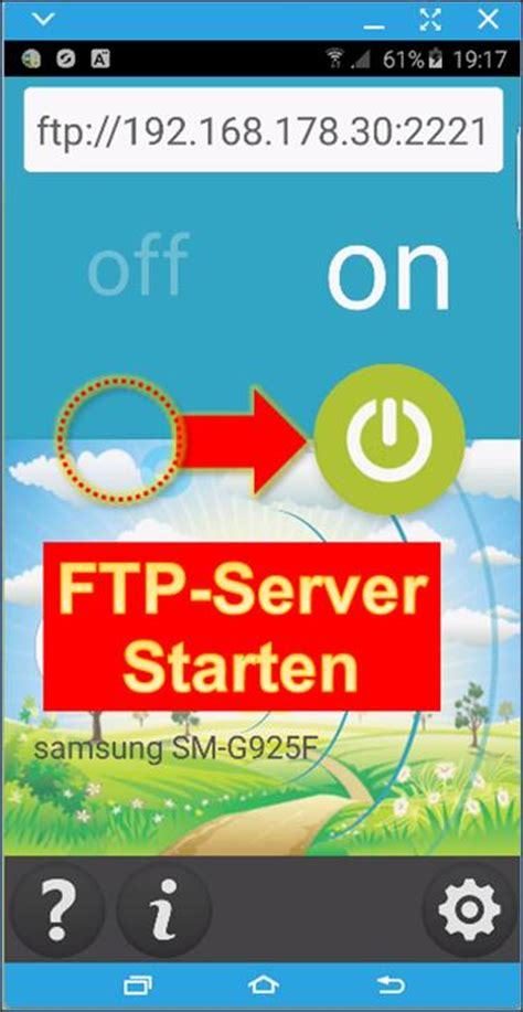 android app ftp server  auf dateien des smartphones
