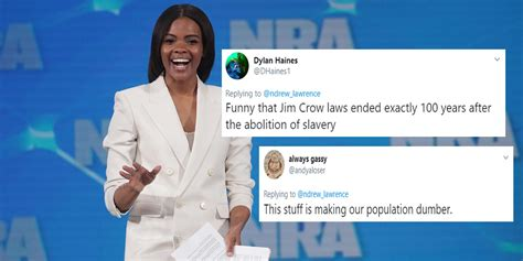 candace owens trump supporter claims black people
