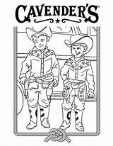 Cavender Coloring Ranch sketch template