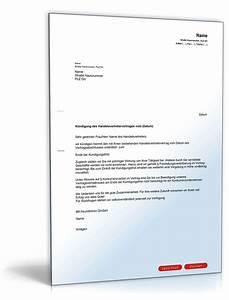 Kündigung Vorlage Pdf : fristgem e k ndigung handelsvertreter muster zum download ~ Eleganceandgraceweddings.com Haus und Dekorationen