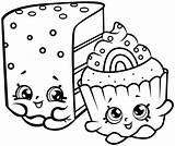 Shopkins Coloring Pages Printable sketch template